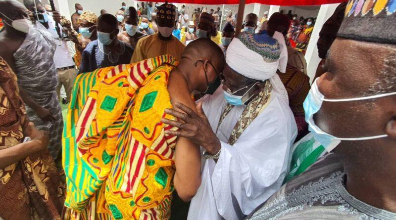 National Chief Imam honoured with mammoth durbar in Okuapeman