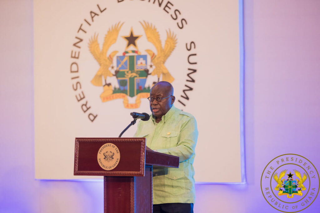 PBS Business Compact will be fully implemented – Akufo-Addo assures private sector
