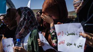 Afghan protesters defy Taliban intimidation