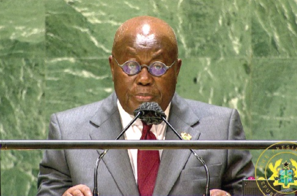 We must defend constitutional rule – Akufo-Addo speaks at 76th session of UN General Assembly