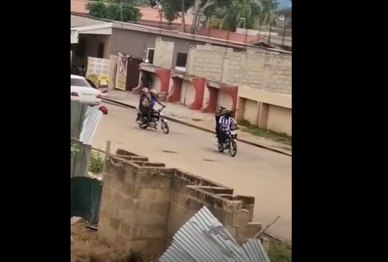 [Video] Another robbery incident at Weija