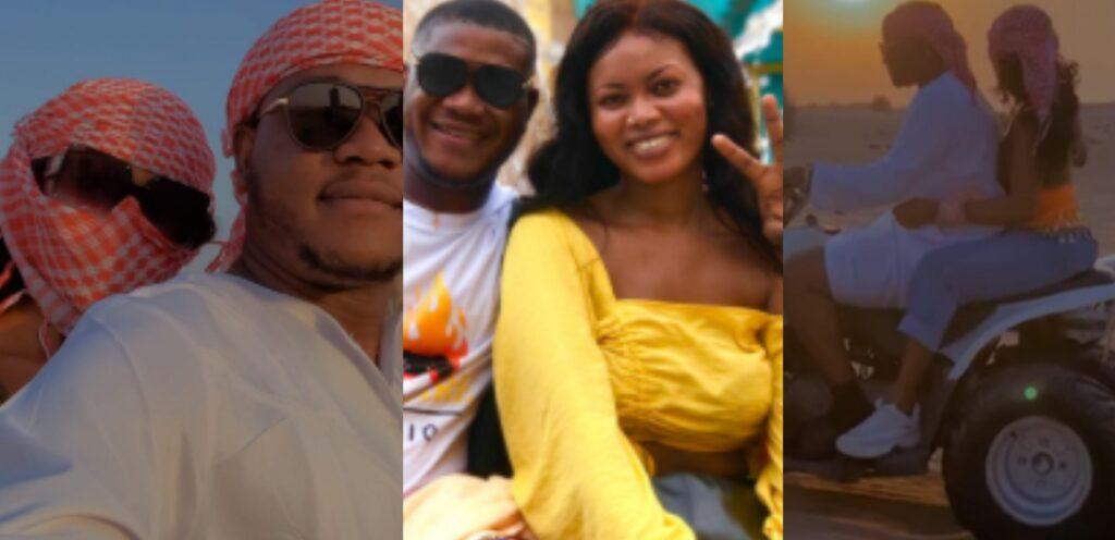 [Video] Date Rush Dzato and Grace flaunt couple goals on Dubai trip