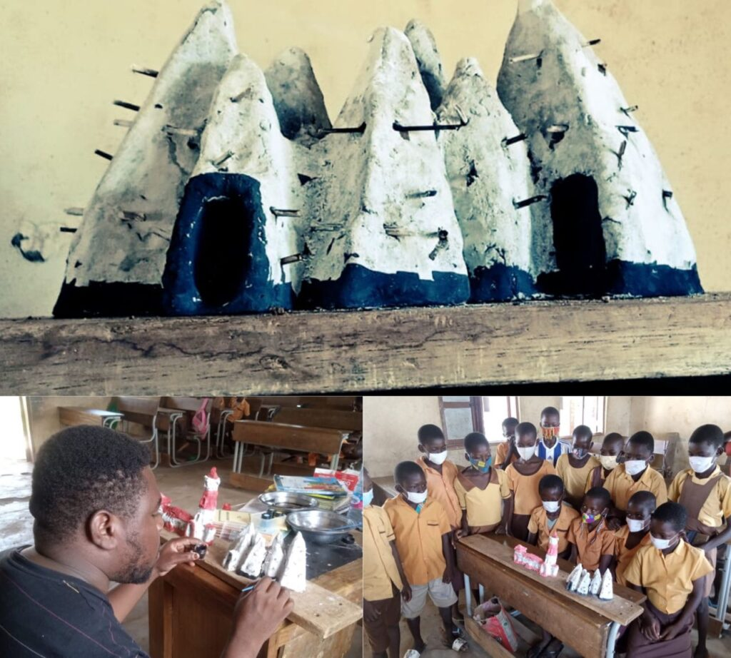 Teacher uses clay to model tourist sites for pupils unable to afford educational trip to see
