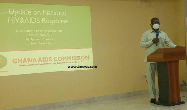Ghana AIDS Commission DG Atuahene Kyeremeh scaled