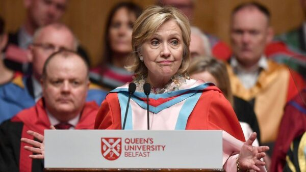 Hillary Clinton to be installed as university chancellor