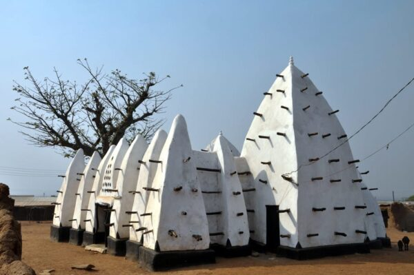 The Larabanga Mosque is the oldest mosque in the country and one of the oldest in West Africa