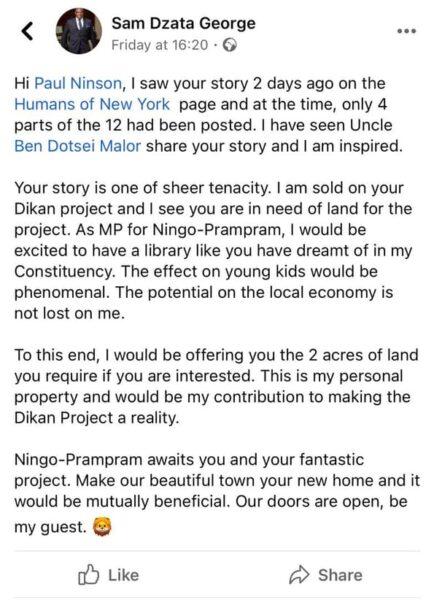 Sam George Dikan post scaled