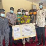KTU-SRC donates 150,000 cedis to management towards the construction of new campus hospital