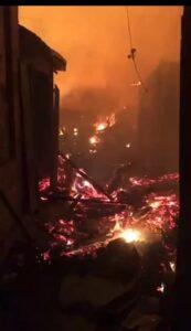 Fire guts Akyem Oda Market