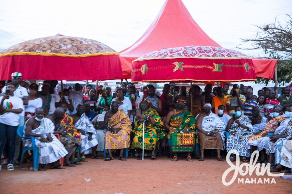 Ignore twisted interpretation of 'do and die' comment- Ashanti chief to Mahama