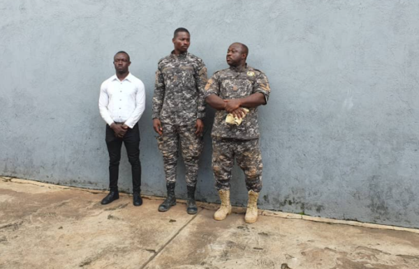 A/R: 3 in military custody for alleged extortion at mining sites