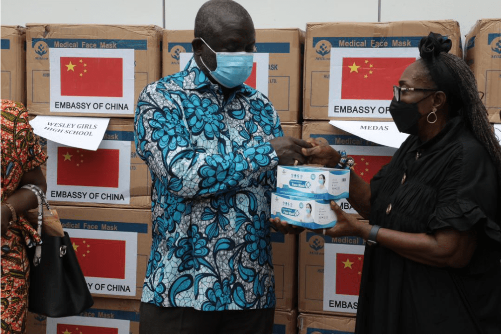 Rebecca foundation donates nose mask to WASSSCE candidates