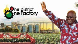 Akufo-Addo commissions garment manufacturing factory at Koforidua