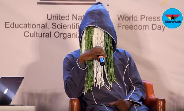 Anas Aremeyaw Anas responds to false claims by Ahmed Suale's wife