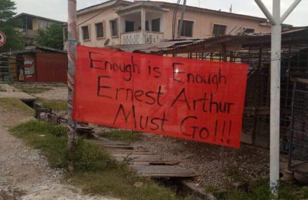 Ernest Arthur Cape Coast mayor scaled