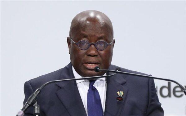 President Akufo Aado scaled