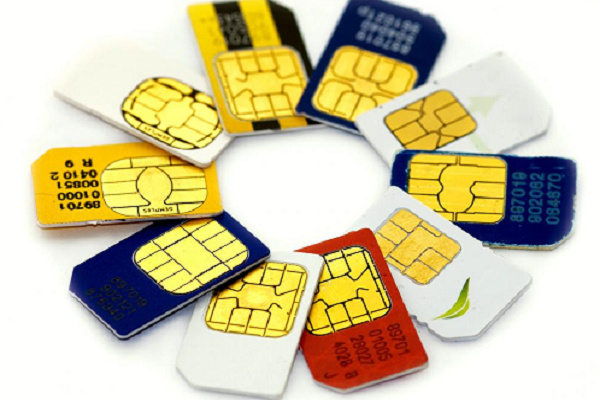 SIM cards 1