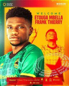 Asante Kotoko unveil new signing Mbella Etouga