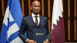 Chelsea legend Drogba named WHO Ambassador for Sports and Health