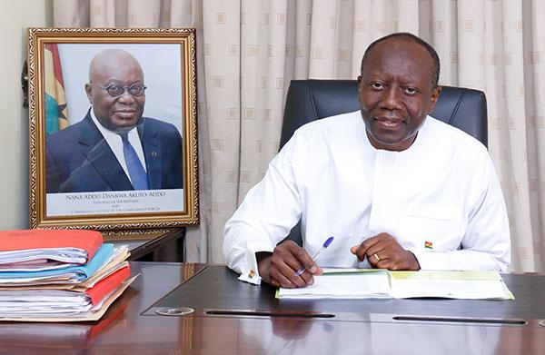Ofori-Atta has not resigned – Finance Ministry
