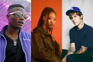 wizkid reacts as justin bieber thanks him for essence remix featuring tems